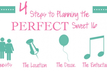 4 Steps to Planning the Perfect Sweet 16 Party