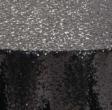Black Glimmer Sequin