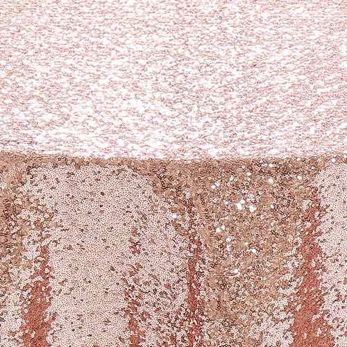 Blush Glimmer Sequin