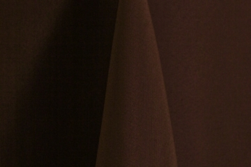 Brown Polyester Solid