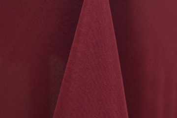 Burgundy Polyester Solid