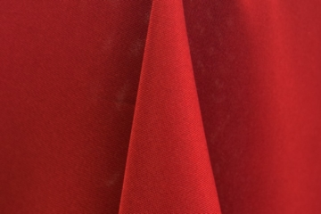Cherry Red Polyester Solid