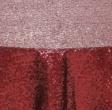 Crimson Glimmer Sequin