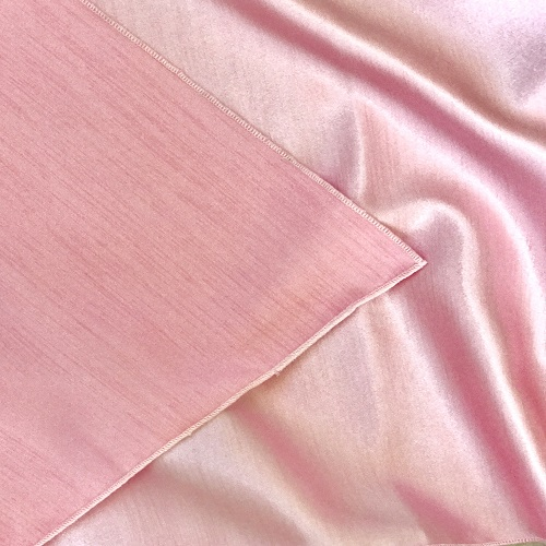 Light Pink Majestic/Dupioni