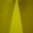 Neon Yellow Polyester Solid