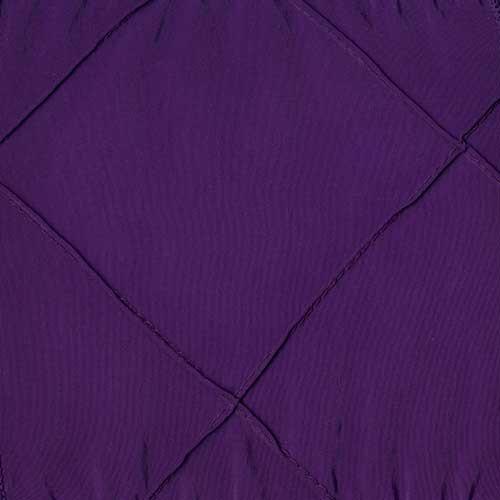 Purple Pintuck
