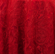 Red Paisley Lace