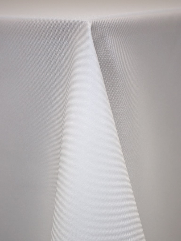 White Polyester Solid