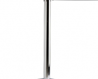 Stanchion – Chrome w/ Retractable Belt