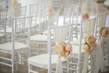3 Tips for Chair Rentals for Your Dream Wedding